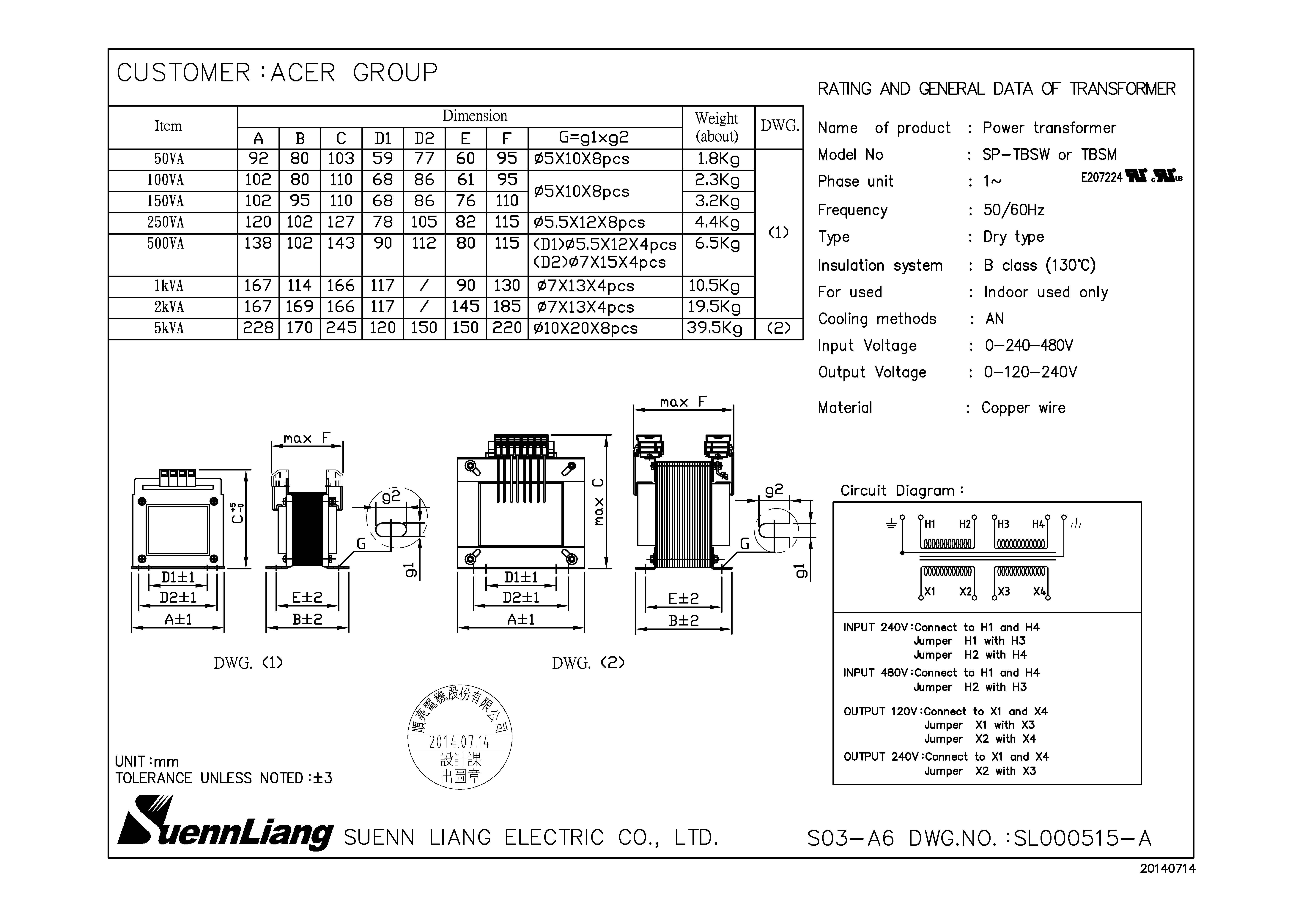 f15000 60 hz input  240  480v output  120  240v