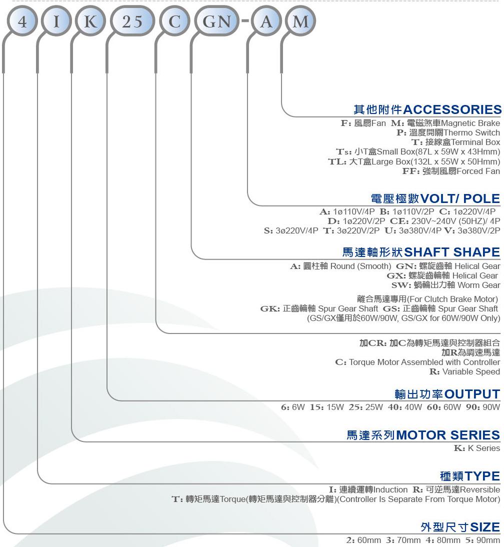 Sesame 5RK40GN-C Reversible Motor 40W//1PH//220V//4P