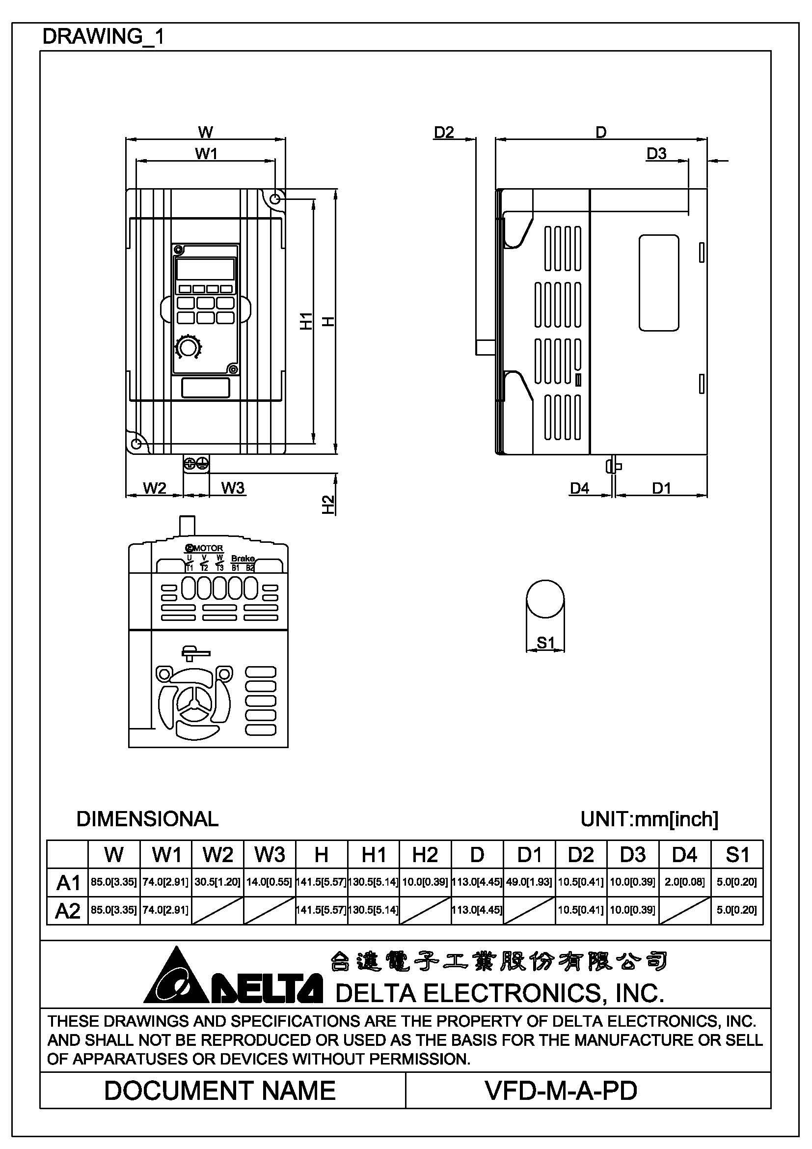 inverter delta vfd m manual