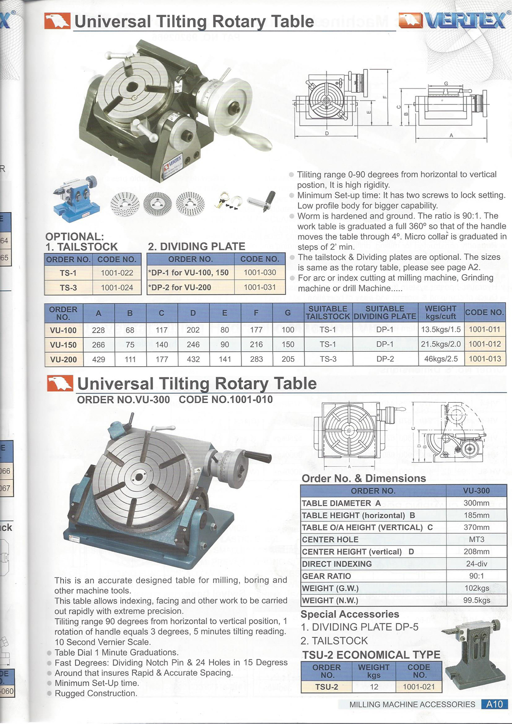vertex rotary table user manual
