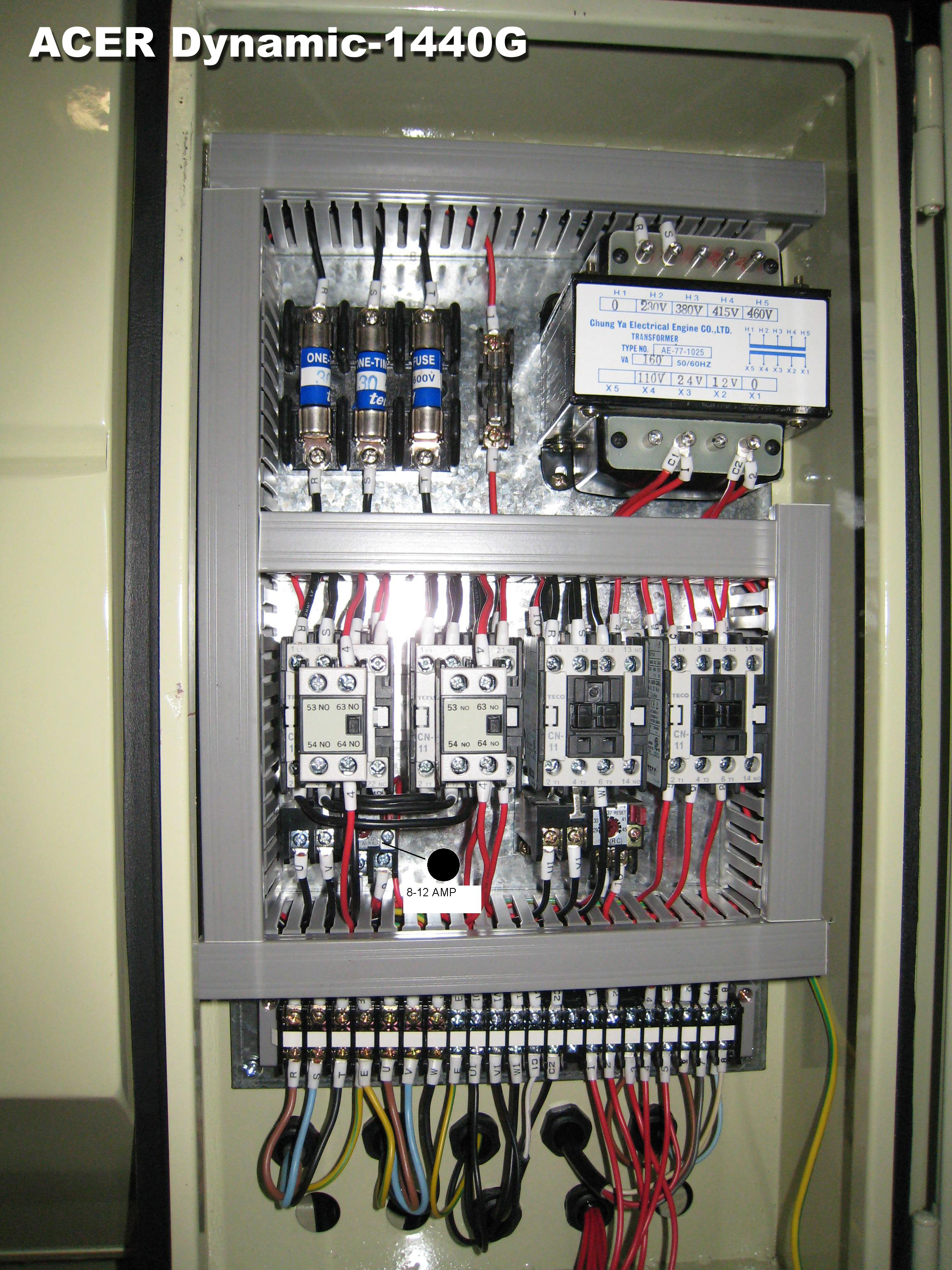 El Wddyn G on Control Panel Wiring