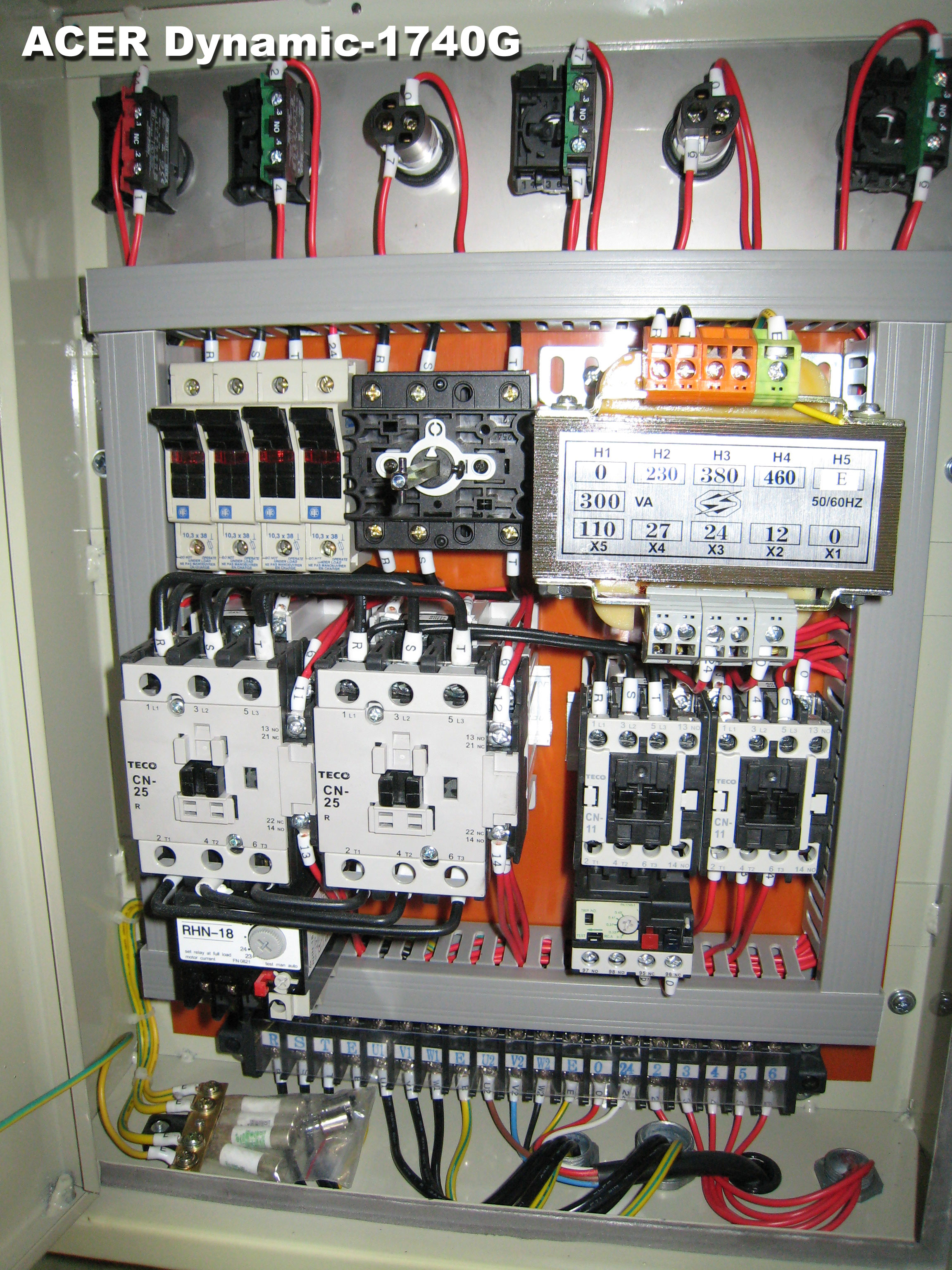 el wddyn1740g acer group homepage [downloads electrical layout & control panel pics] electrical control panel wiring diagrams at edmiracle.co